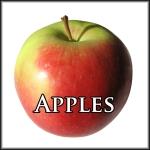 Apples Text Border